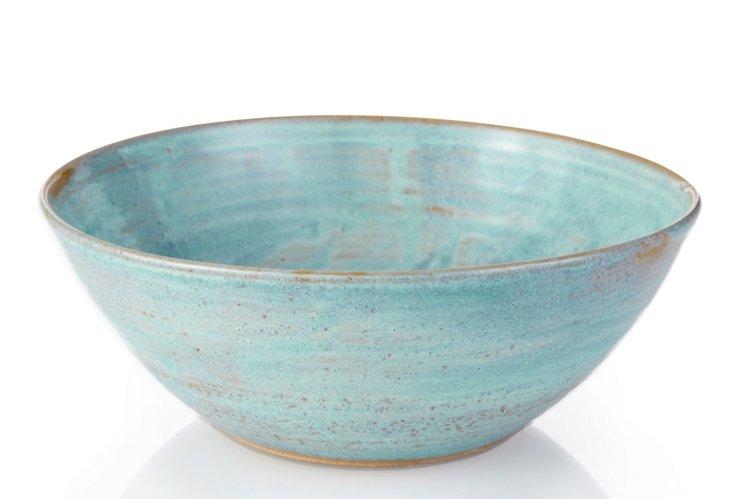 Serving Bowl, Aqua