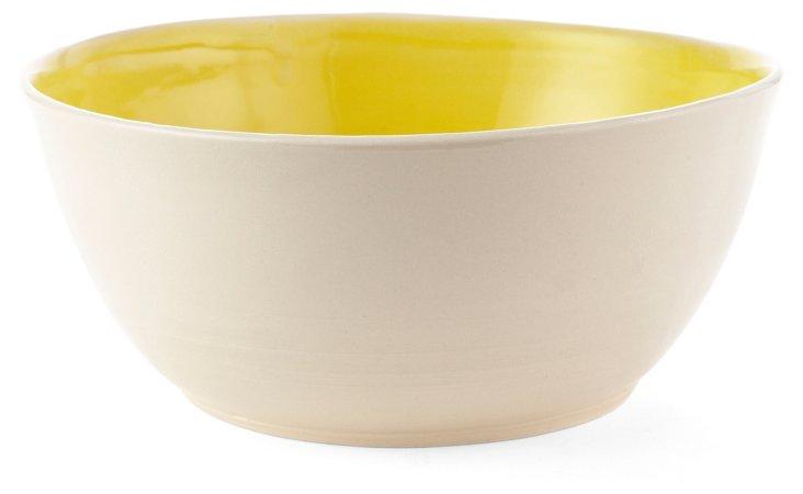 Yellow & White Fruit Bowl