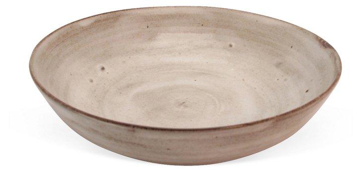 Light on Dark Pasta Bowl