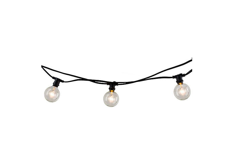 Tilly 10-Pc Circular String Lights, Clear