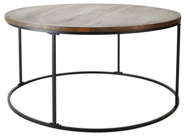 Conroy Cocktail Table, Natural