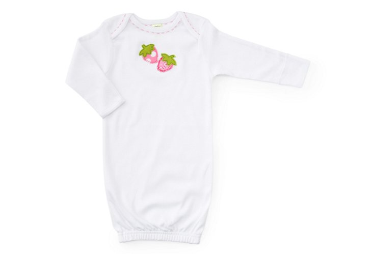Strawberry Newborn Gown