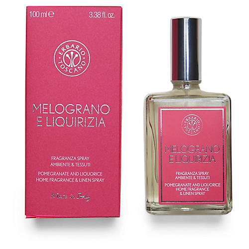 Pomegranate & Liquorice Linen Spray
