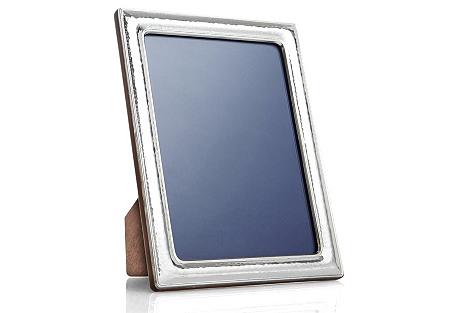 Sterling-Silver Hammered Frame