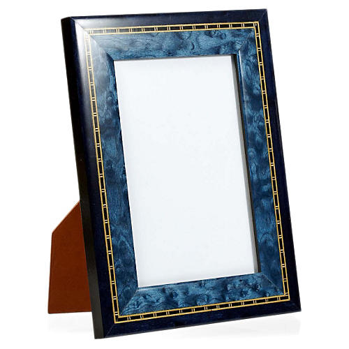 Two-Tone Frame, 5x7, Blue/Black
