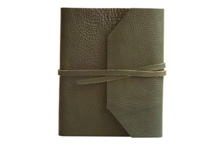 Frieri Leather Journal, Green