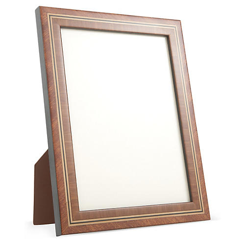 Antiqued Mahogany Frame, 8x10, Brown