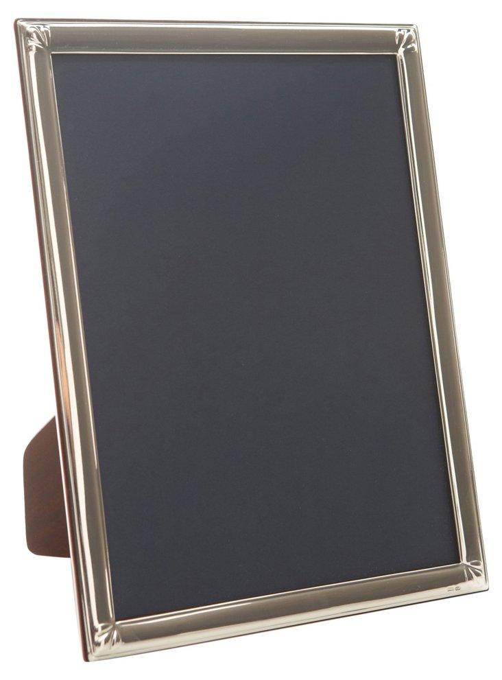 Sterling Silver Fleur-de-Lis Frame, 4x6