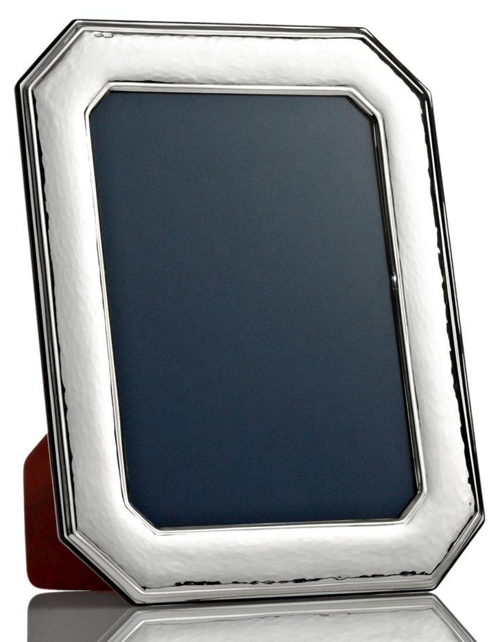 Sterling-Silver Octagonal Frame, 5x7