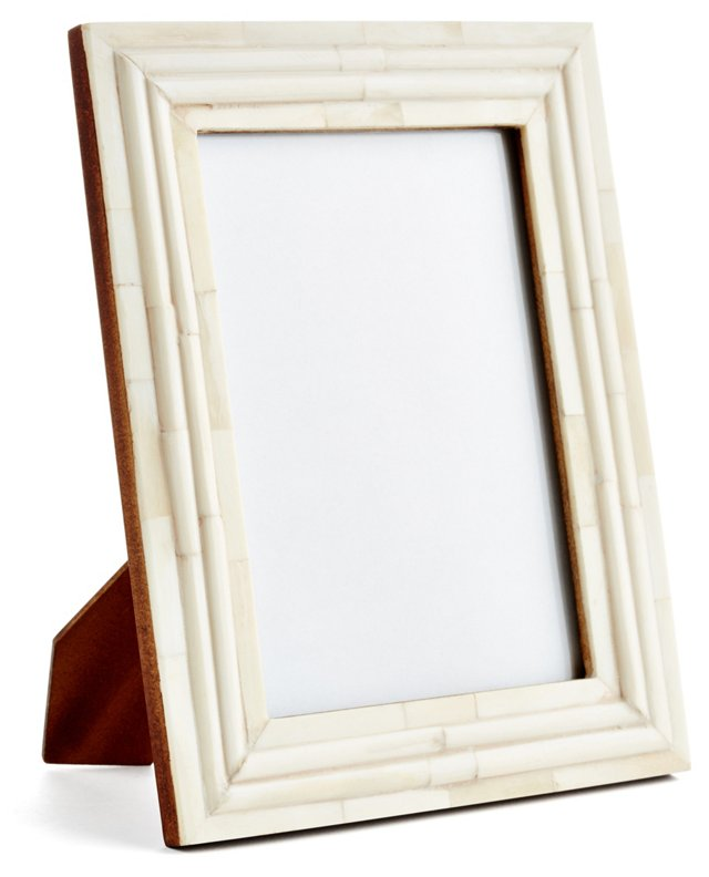 Raised Interior Frame, 4x6, Ivory