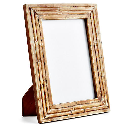 Raised Bone Frame, 4x6, Brown
