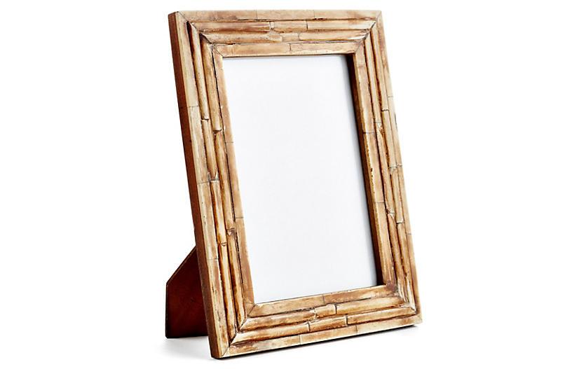 Raised Bone Frame - 4x6 - Brown