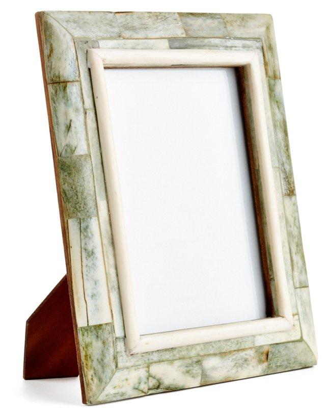 Bombay Sloped Frame, 4x6, Green