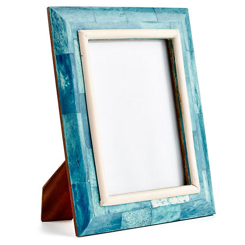 Bombay Sloped Frame, 5x7, Blue