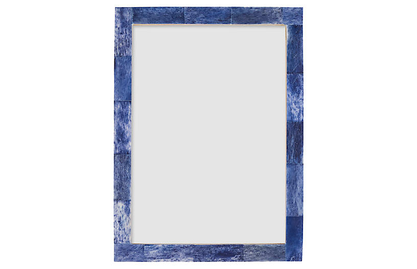 Rene Frame, Blue/Multi