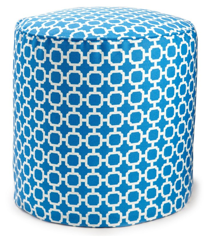 Hockley Outdoor Pouf, Nile