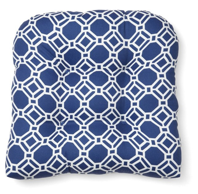 Ross 19x20 Outdoor Chair Cushion, Blue