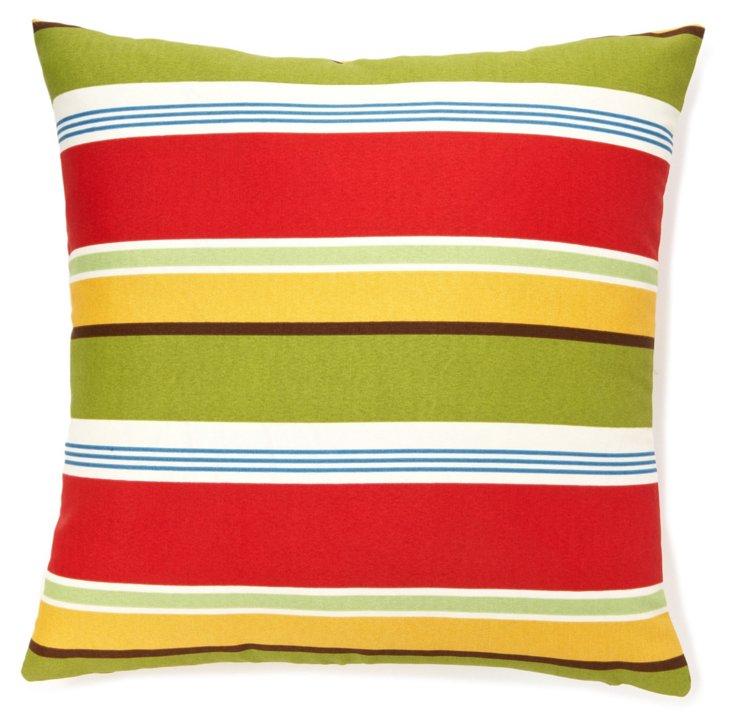 Loft 20x20 Outdoor Pillow, Red