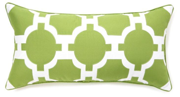 Link 13x25 Pillow, Green