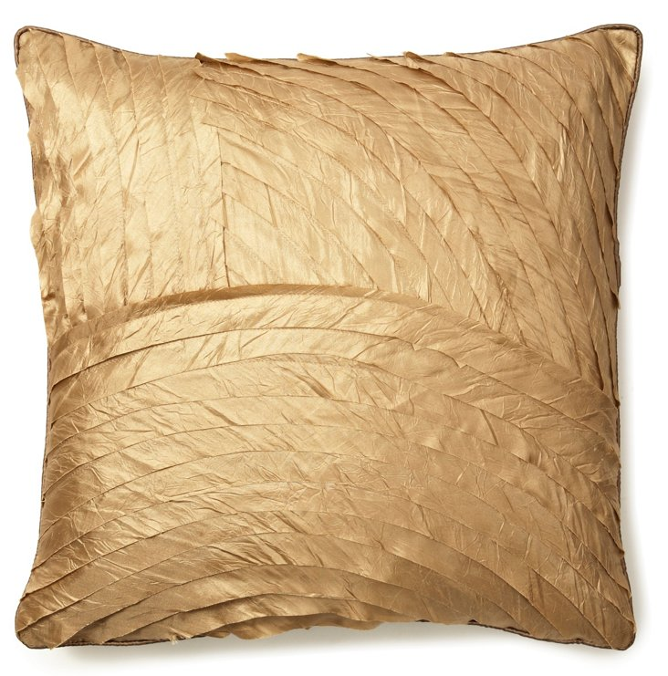 Shimmer 18x18 Pillow, Sage