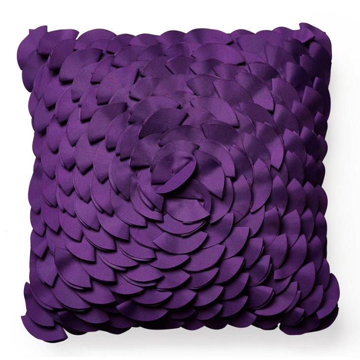 Peony 16x16 Outdoor Pillow, Purple