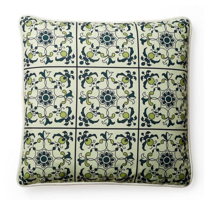 Lisbon 18x18 Outdoor Pillow, Multi
