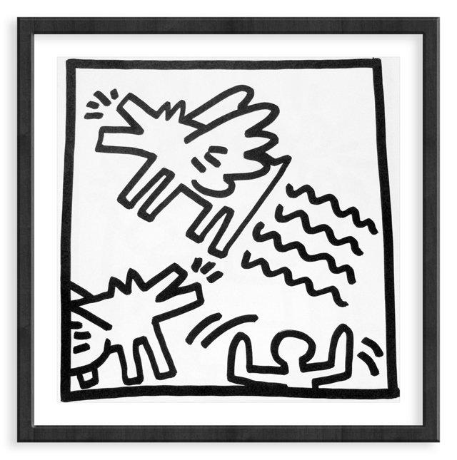 Keith Haring, Angel Dog, 1982