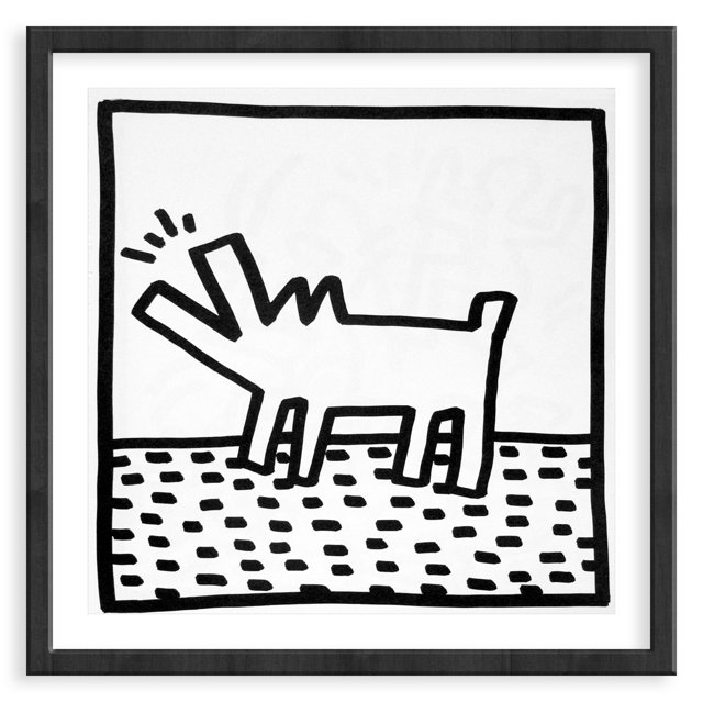 Keith Haring, Barking Dog, 1982