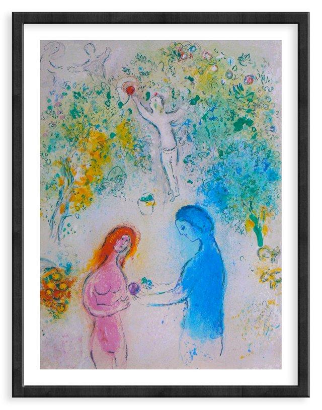 Chagall, Mourlot 308, Frontis Piece