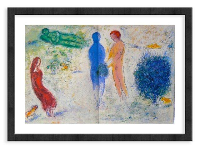 Chagall, Mourlot 315, Chloe's Judgement