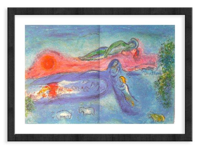 Chagall, Mourlot 320, Death of Dorkon