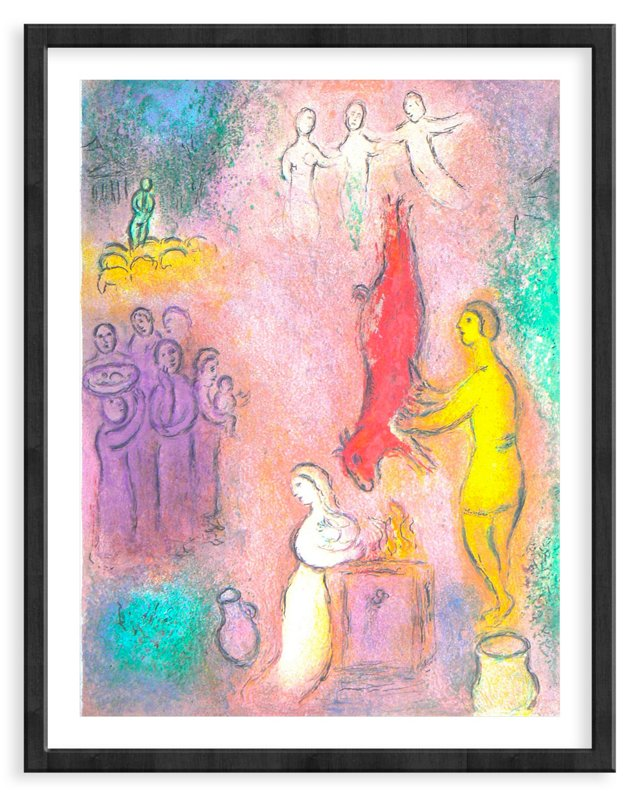 """Chagall, """"Sacrifices Made to the Nymphs"""""""