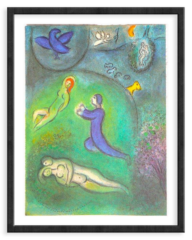 "Marc Chagall, ""Daphnis and Lycernion"""