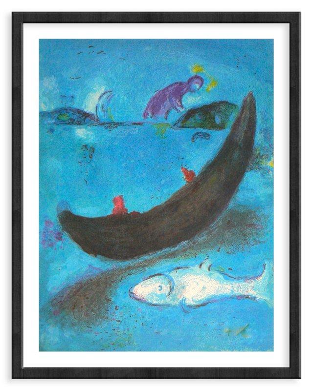 Chagall, The Dead Dolphin & 300 Dracmas