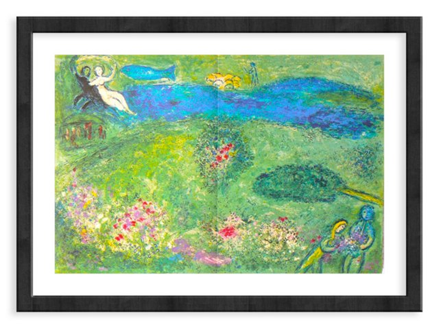 Chagall, Mourlot 341, The Orchard