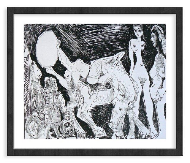 Picasso, Gravure 43, 1968
