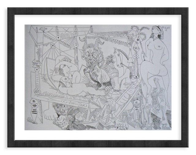 Picasso, Gravure 56, 1968