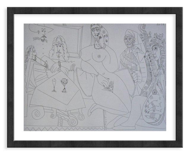 Picasso, Gravure 69, 1968