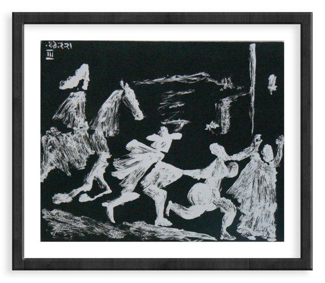 Picasso, Gravure 88, 1968