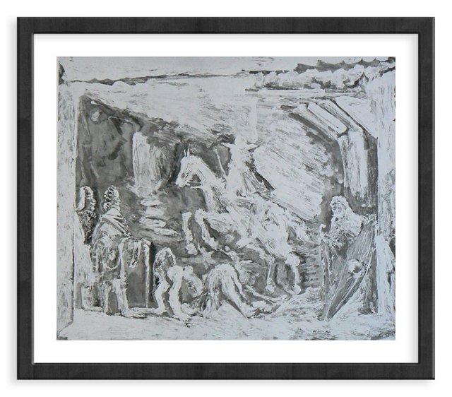 Picasso, Gravure 98, 1968