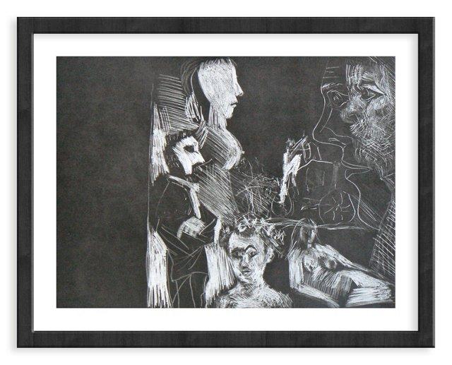 Picasso, Gravure 104, 1968