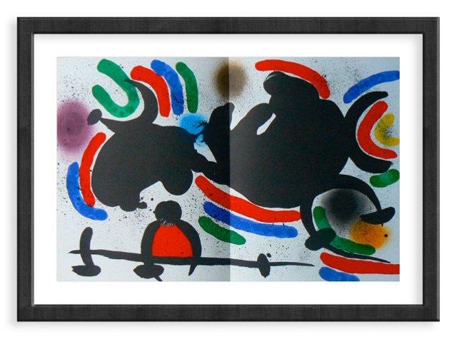 Miró, Original Lithograph VI, Vol. 1