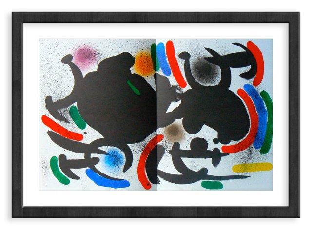Miró, Original Lithograph IX, Vol. 1