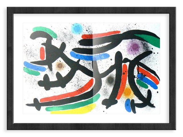 Miró, Original Lithograph XI, Vol. 1