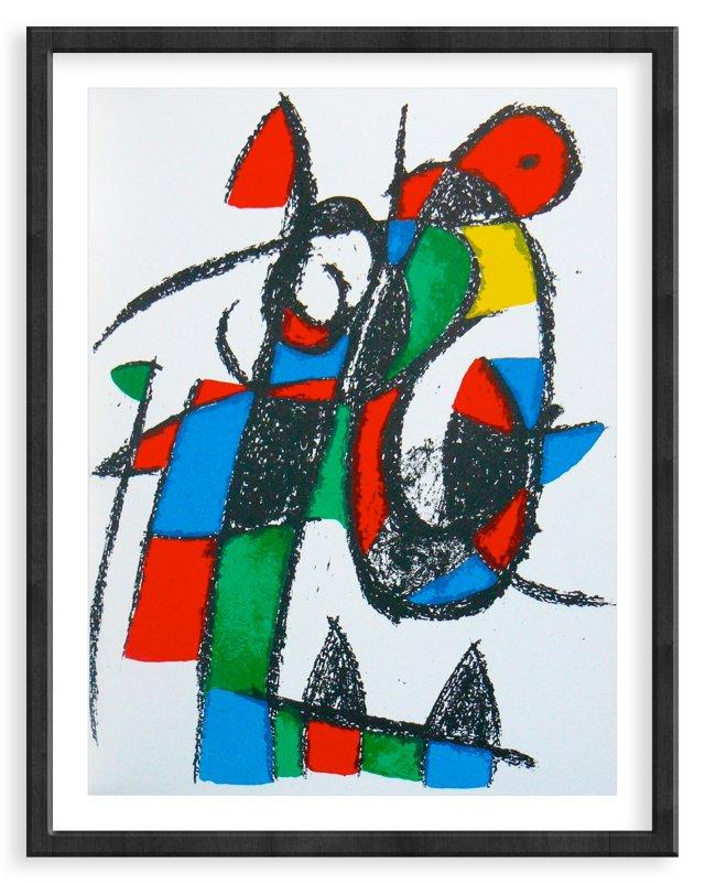 Miró, Original Lithograph II, Vol. 2