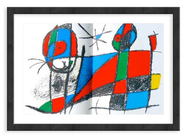 Miró, Original Lithograph VI, Vol. 2