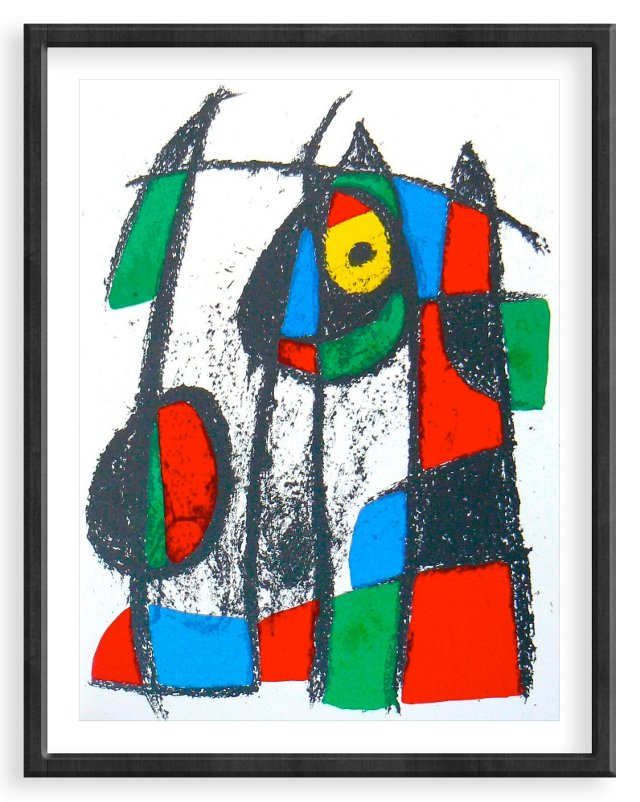 Miró, Original Lithograph VII, Vol. 2