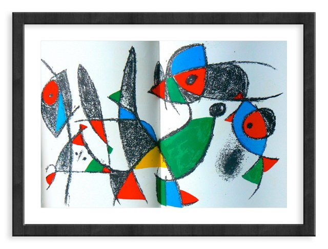 Miró, Original Lithograph IX, Vol. 2