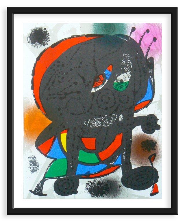 Miró, Original Lithograph IV, Vol. 3
