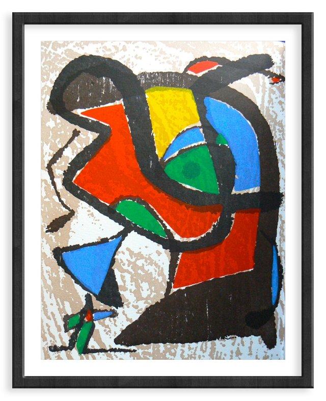 """Miró, """"Woodcut II"""" Vol. I.967"""